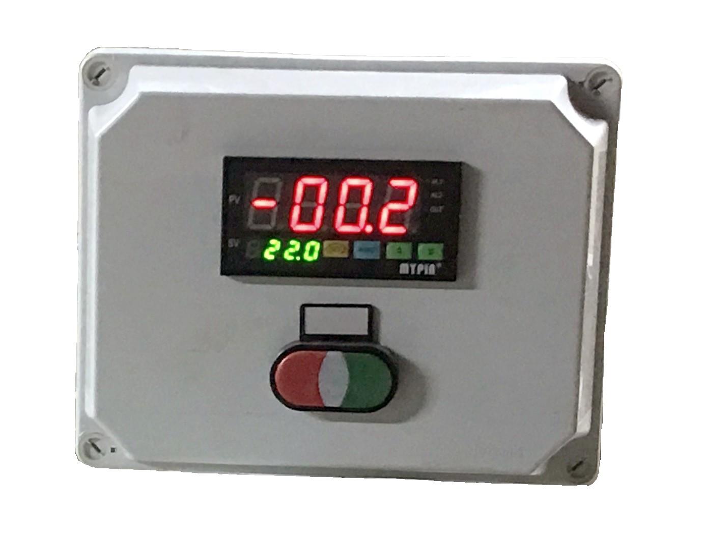 Coffret pesage avec indicateur 2 seuils